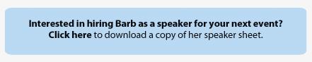 Speaker Sheet