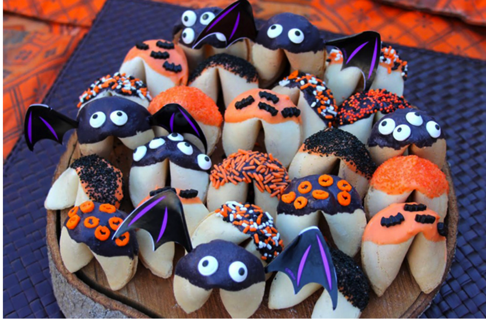 Spooky Spectacular Halloween Themed Fortune Cookies