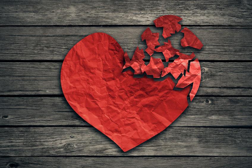 Grief broken heart