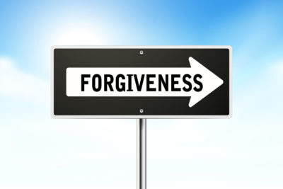 Forgivness sign